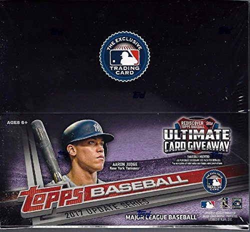 2017 Topps Traded Updated and Highlights Series MLB Baseball Unopened Factory Sealed Retail Box with 24 Packs of 12 Cards each (288 cards total)