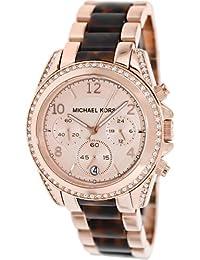Michael Kors MK5859 Womens Tortoise Wrist Watches