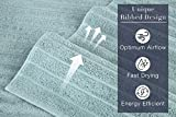Classic Turkish Towels - 6 Pack Ribbed Wash Cloths
