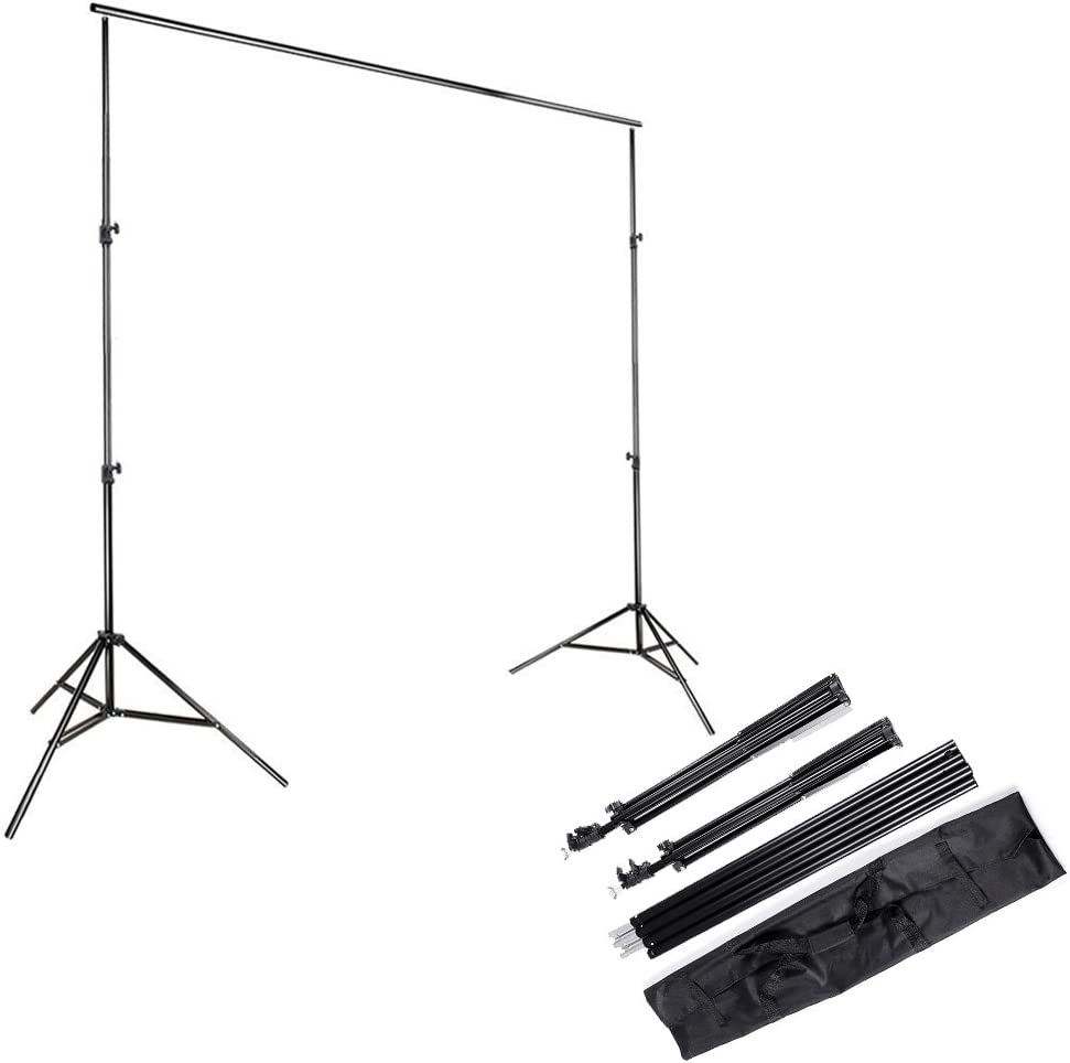 Amazon Com Kshioe 2x3m 6 5x9 8ft Photo Video Studio Adjustable Background Backdrop Support System Stand With Carry Bag Camera Photo
