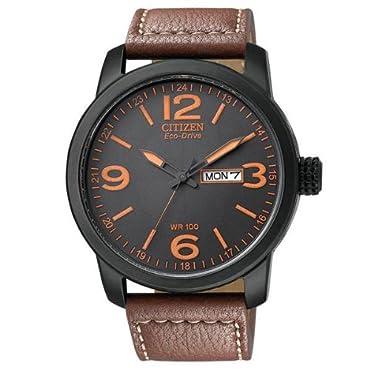 Citizen BM8475-26E Eco Drive Brown Leather Men's Watch