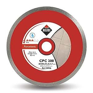 Rubi Cpc - Pro - Disco de diamante para gres porcelánico (200 mm) color gris