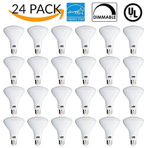 11w Led (SUNCO 24 PACK - BR30 LED 11WATT (65W Equivalent), DIMMABLE, Indoor/Outdoor Lighting, 850 Lumens, Flood Light Bulb, UL LISTED (2700K - Soft White))