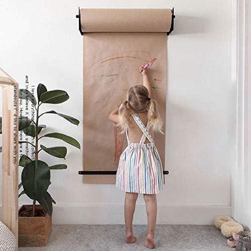 Kraftpapier Wandbehangstylische Wand Papier Halterung Für Büro Café Oder Zuhause Innovative Alternative Zu Whiteboard Flipchart Memoboard Oder Kreidetafel,50M