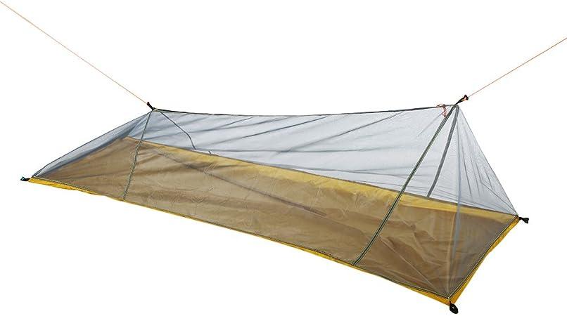 Lixada Tienda de campaña al Aire Libre Tienda de Malla Ultraligera Mosquito Insecto mosquitera Repelente de Insectos