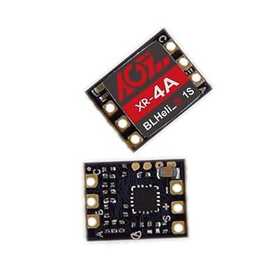 Pair Pack AGFrc Mini 4A ESC Brushless Xeon Run DSHOT600 BLHeli_S 1S Super Micro Electronic Speed Controller for RC FPV QAV Racing Drone Multirotor Quadcopter: Toys & Games