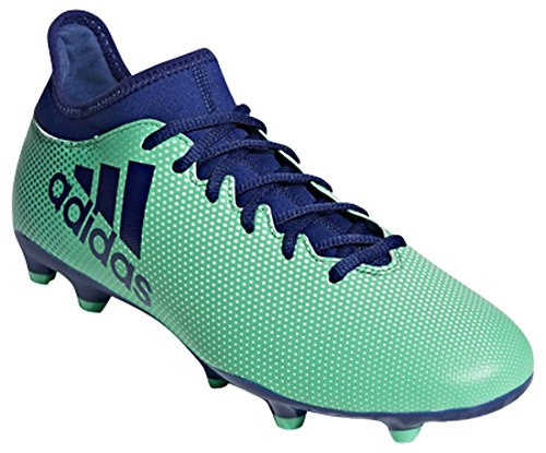 adidas Mens X 17.3 FG Soccer Shoe,Tactile Gold/core Black/Solar red,13.5 M US