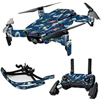 MightySkins Skin for DJI Mavic Air Drone - Saltwater Compass | Max Combo Protective, Durable, and Unique Vinyl Decal wrap cover | Easy To Apply, Remove, and Change Styles | Made in the USA