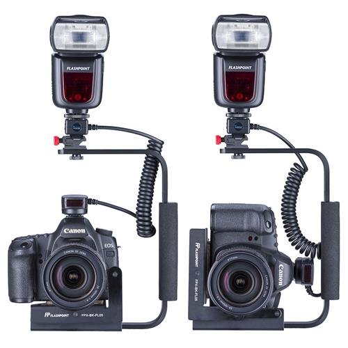 Flashpoint Rotating Camera Flip-Flash Bracket with Integrated Anti Twist Plate by Flashpoint (Image #2)
