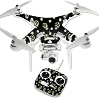 Skin For DJI Phantom 3 Standard – Nighttime Skulls | MightySkins Protective, Durable, and Unique Vinyl Decal wrap cover | Easy To Apply, Remove, and Change Styles | Made in the USA