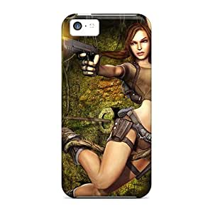 Special SpecialUandMe Skin Case Cover For Iphone 5c, Popular Tomb Raider Game Hd Phone Case
