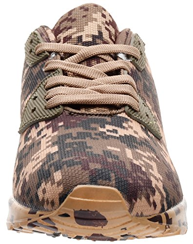 46 Chaussures 36 de EU Basses Marron JOOMRA Camo Mixte Adulte Jogging q0nfxRxHTw