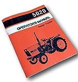 Allis Chalmers 5020 Operators Owners Manual Diesel Tractor Book Operation