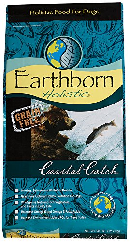 Earthborn Holistic Coastal Catch Grain Free Dry Dog Food, 28 Lb.
