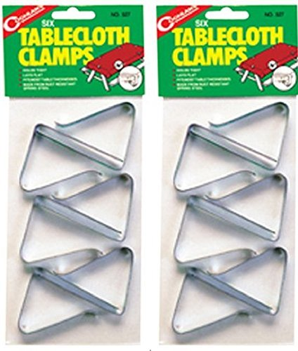 Coghlan's 527 Table Cloth Clamp (2, Silver)