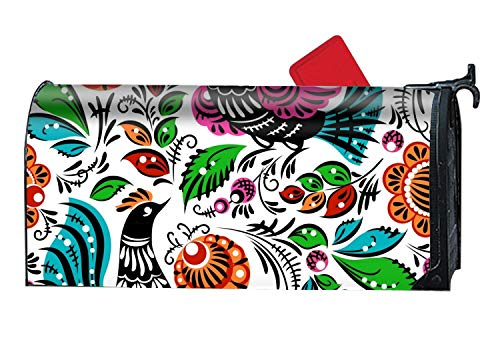 BABBY Folk Painting Magnetic Mailbox Cover Autumn Standard -