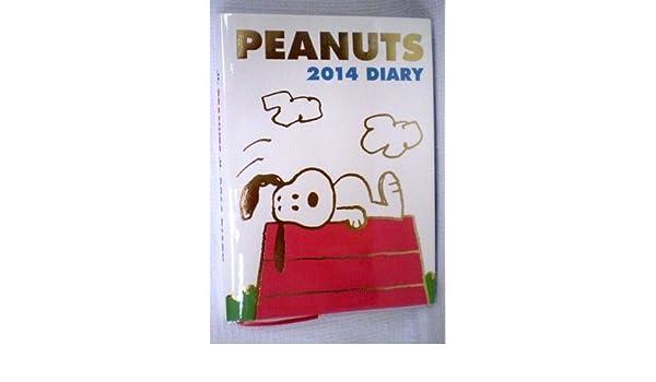 Amazon.com : 2014 Peanuts Snoopy Schedule Book Weekly ...