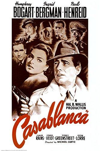 Casablanca Movie Poster Regular Print