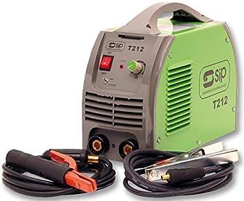 SIP weldmate P212 soldador ARC/TIG Inverter 200 A [1] (Epítome Certificado): Amazon.es: Bricolaje y herramientas