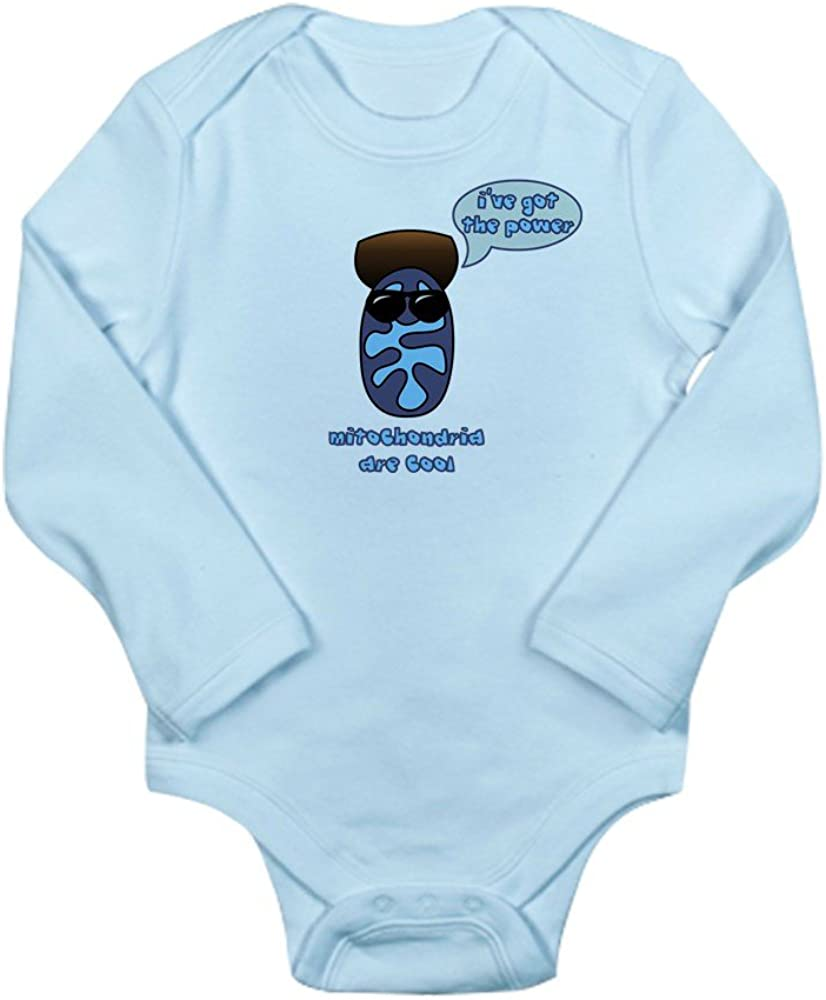 CafePress Mitochondria Long Sleeve Infant Baby Bodysuit