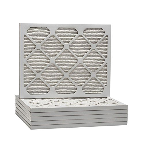 "ComfortUp WP25S.012537 - 25"" x 37"" x 1 MERV 13 Pleated Air Filter - 6 pack"