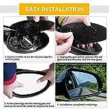 X AUTOHAUX Car Rearview Mirror Glass W/Backing
