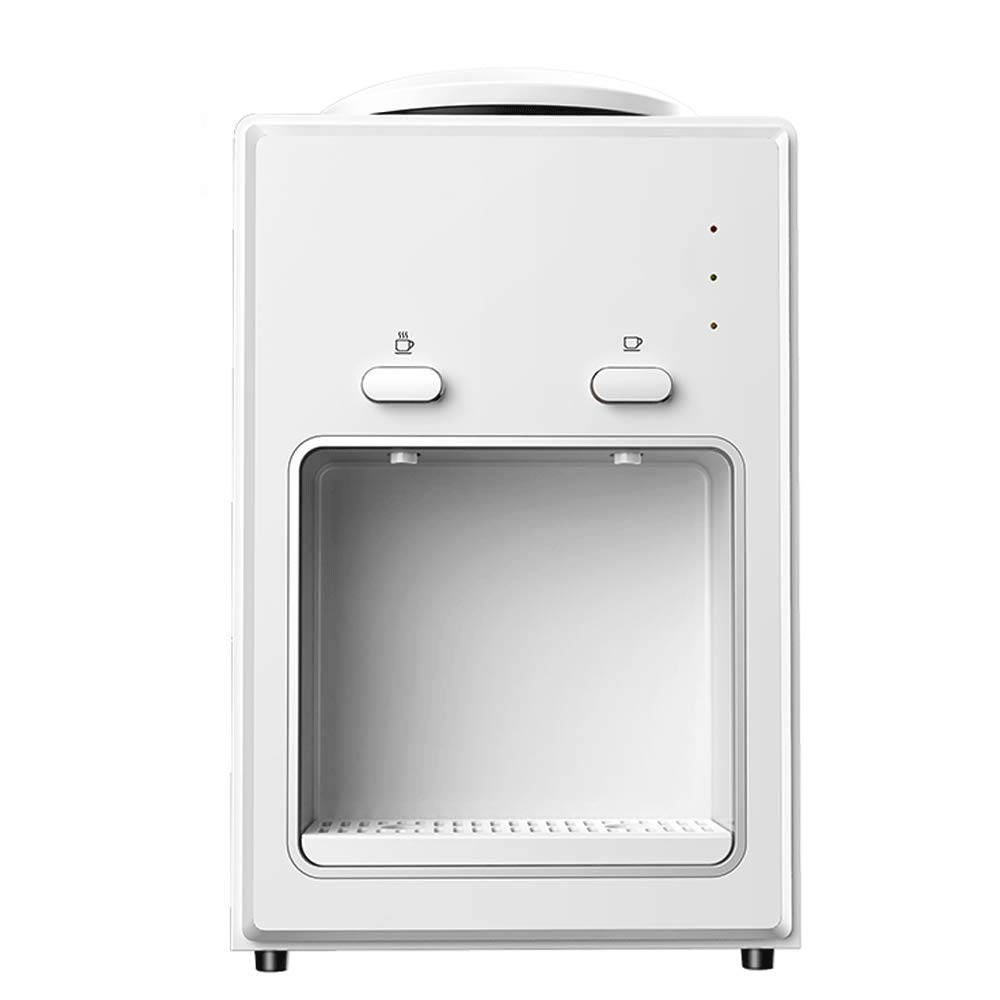 JTGYA Desktop Water Dispenser - Double Push Cup to Take Water,Heighten Water Space, Small Office Desktop Warm Water Dispenser by JTGYA