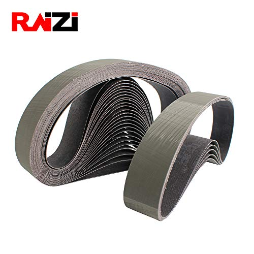 Maslin Raizi 3 pieces abrasive 3M sanding belt for stainless steel sander/polisher P800-2500 - (Grit: P2000-2500, Size: 760X40mm)