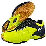 Yonex SRCP Comfort Badminton Shoes BLACK LIME GREEN UK7