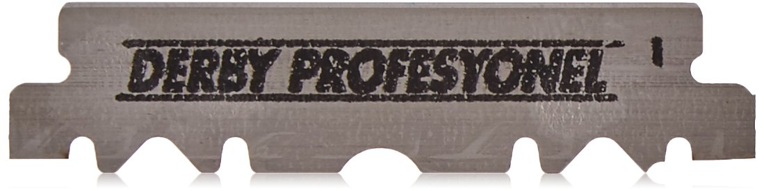 100 Derby Professional Single Edge Razor Blades Derby International