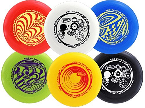 Classic Frisbee (Wham-O Pro-Classic U-Flex Frisbee 130g Model: 81110)