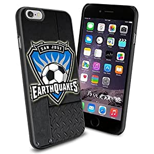 diy zhengSoccer MLS SAN JOSE EARTHQUAKES SOCCER CLUB FOOTBALL FC Logo , Cool iphone 5c Smartphone Case Cover Collector iphone TPU Rubber Case Black