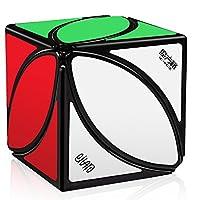 D-FantiX Qiyi Mofangge Ivy Cube FengYe Skewb Cube Puzzles Eitan Ivy Leaf Cube Black