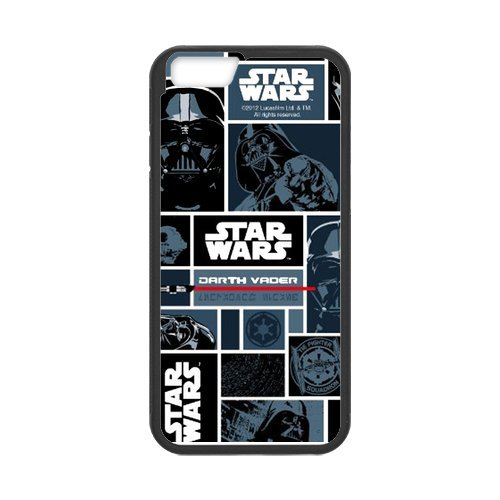 Fayruz- Personalized Protective Hard Textured Rubber Coated Cell Phone Case Cover Compatible with iPhone 6 & iPhone 6S - Star Wars F-i5G1042