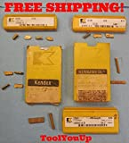 15 pcs LOT OF NEW KENNAMETAL CARBIDE CUT OFF & PARTING INSERTS GS GSP GC LATHE