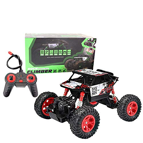 Locke Teddy RC Car 4WD High Speed 1:16 Remote Control Carso,Off-Road Racing Vehicle Rock Crawler Climber Car Electronic Monster Truck R/C Buggy Electric Fast Race Hobby for Kids ()