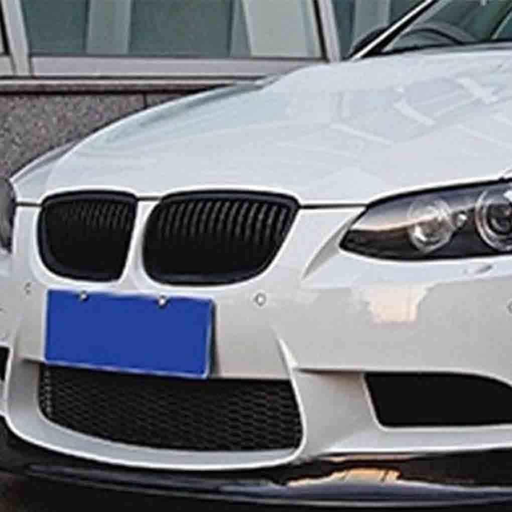 BeIilan ABS Auto plastica Frontale Griglie Nero Lucido del Rene Anteriore Griglie per BMW Serie 3 E92 E93 2 Porte 2006-2009