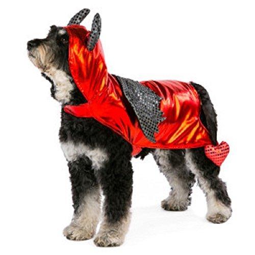 Dog's Devil Costume - Size Medium by Pet Halloween -