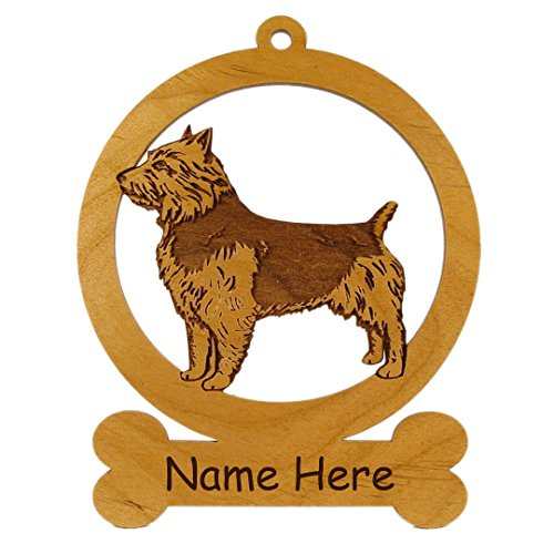 - Australian Terrier Ornament 081424 Personalized With Your Dog's Name