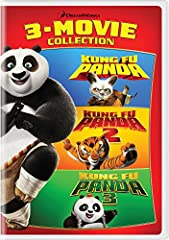 Get a triple-sized dose of panda-packed awesomeness from DreamWorks Animation in the Kung Fu Panda 3-Movie Collection! In Kung Fu Panda, a fun-loving panda named Po embraces his destiny as the Dragon Warrior. Then in Kung Fu Panda 2, Po and h...
