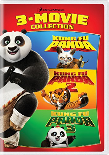 Kung Fu Panda: 3-Movie Collection (Collection Jennifer Hudson)
