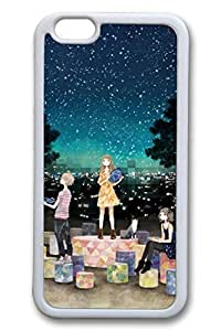 Anime Girl 04 Slim Soft Cover for iphone 5c TPU White Cases