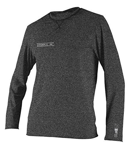 O'Neill Wetsuits UV Sun Protection Mens 24/7 Hybrid Long Sleeve Crew Sun Shirt