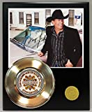 #5: George Strait Gold Record Reproduction Signature Series LTD Edition Display
