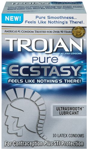 Trojan Condom Ecstasy Ultrasmooth Lubricated product image