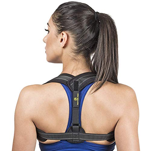 Posture Corrector for Women and Men - Body Wellness Posture Corrector | Corrector de postura -Fully Adjustable Back Brace for Neck, Shoulder & Back Pain Relief with (Adjustable) (Payton Springs)