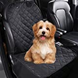 WOT I Dog Front Seat Covers, Dog Car Seat Covers, Dog Seat Cover Durable Nonslip Car Seat Covers for Dogs Machine Washable, Pet Car Seat Cover Universal Fit for Small Medium Large Dogs, Black Review