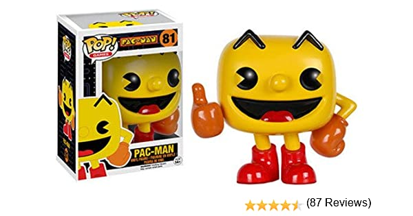 POP! Vinilo - Games: Pac-Man: Pac-Man: Funko Pop! Games:: Amazon ...