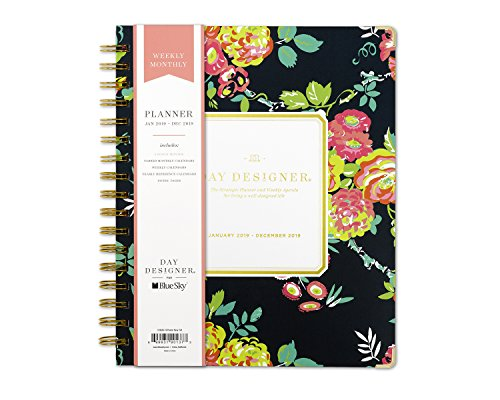 - Day Designer for Blue Sky 2019 Weekly & Monthly Planner, Hardcover, Twin-Wire Binding, 7