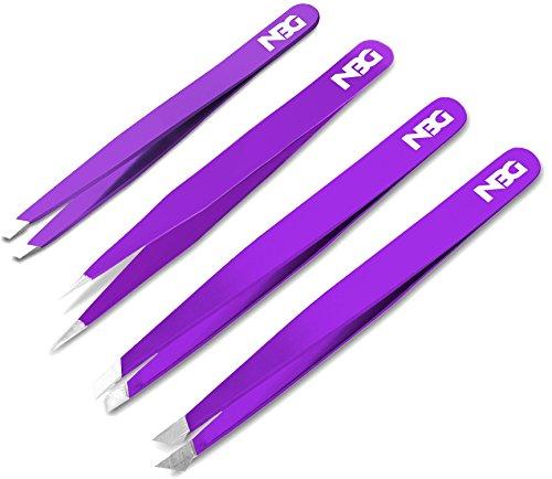 NBG Tweezers Set Tips, Purple
